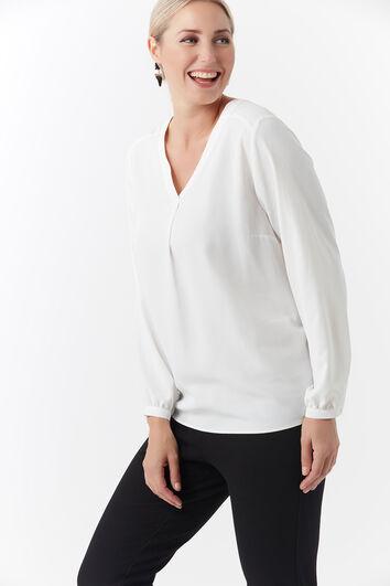 Blusa de color liso