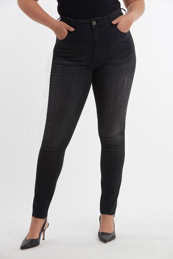 Jeans superajustados CHERRY