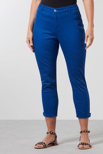 Pantalones de pitillo de sarga
