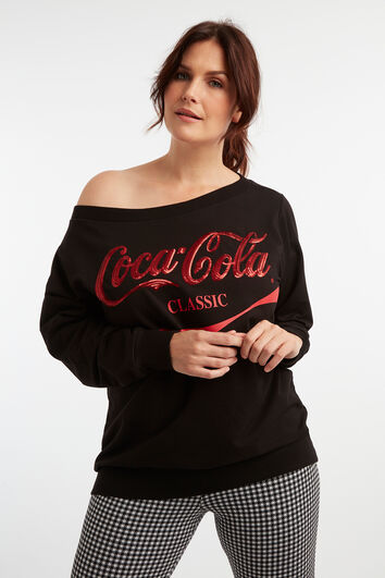 Jersey con estampado de Coca-Cola