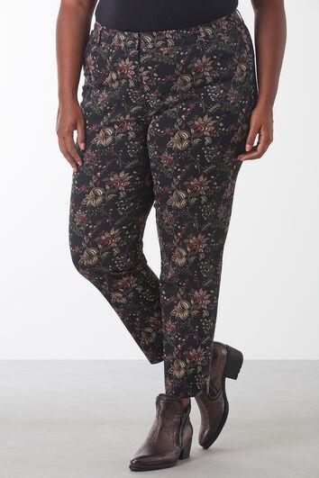 Pantalones con estampado de cachemira