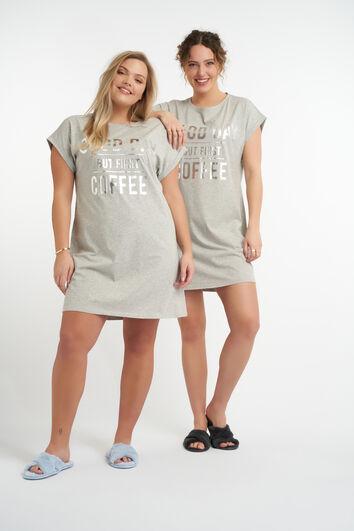 Camiseta oversized pijama