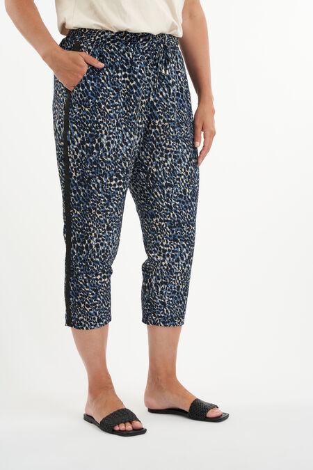 Pantalones holgados con estampado