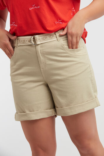 Shorts de algodón