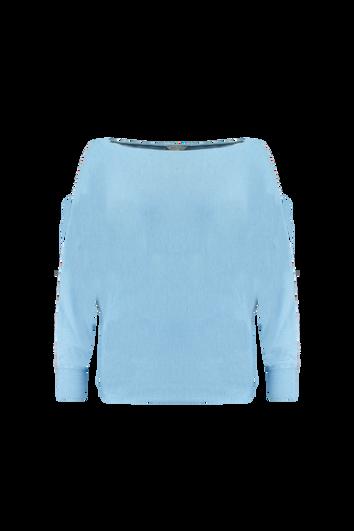 Jersey suave con mangas de murciélago