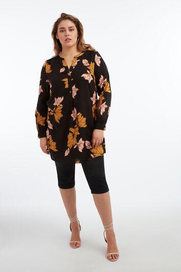 Blusa tipo túnica con estampado floral