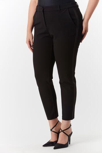 Pantalones con raya de satén
