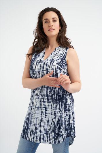 Blusa de encaje sin mangas