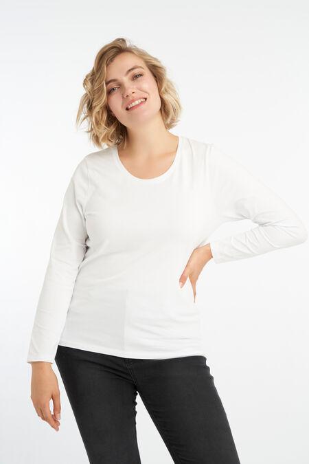 Camiseta básica de manga larga