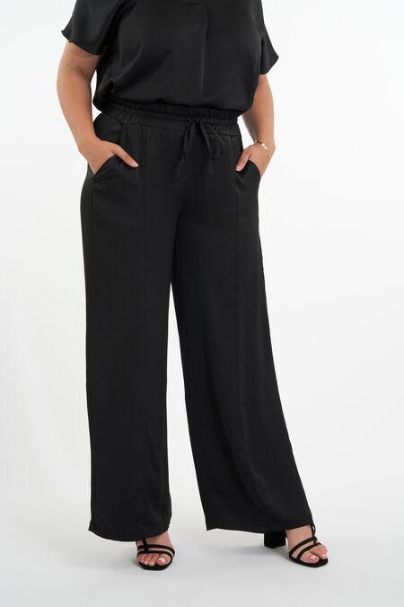 Pantalones de raso