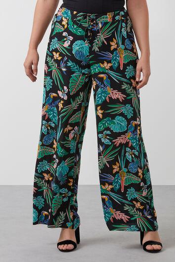 Pantalones de pernera ancha