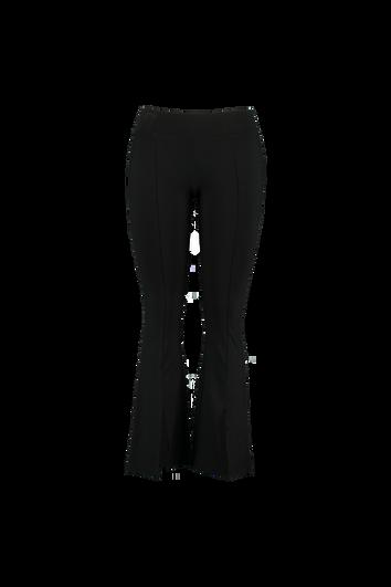 Pantalones acampanados con aberturas