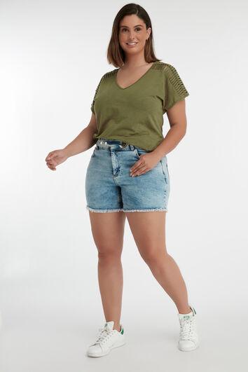 Shorts con hebilla