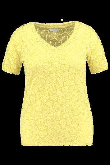 Camiseta semitransparente