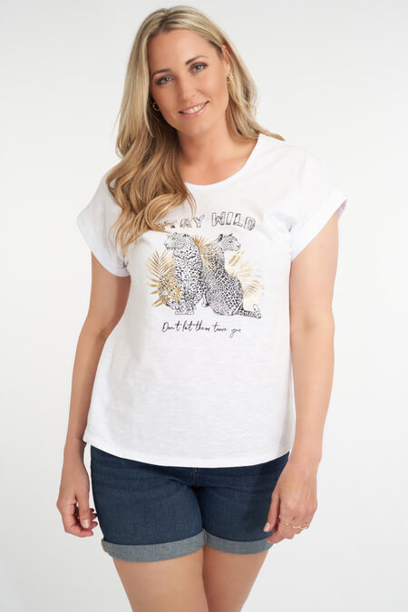 Camiseta con diseño impreso