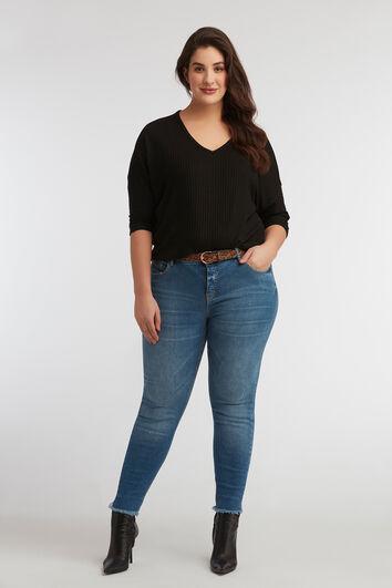 skinny jeans CHERRY con cinturón