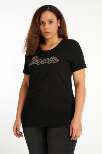 Camiseta con estampado de moda