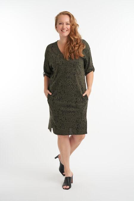 Vestido de estilo informal con estampado