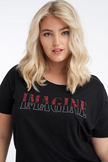 Camiseta con imagen impresa