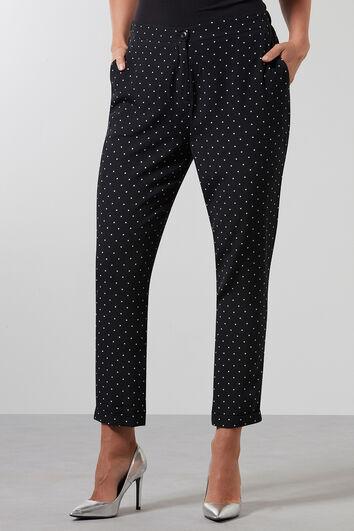 Pantalones de lunares pequeños