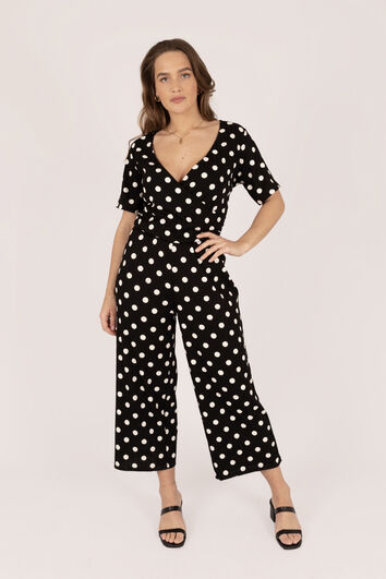Lookbook Jumpsuit With Dots
