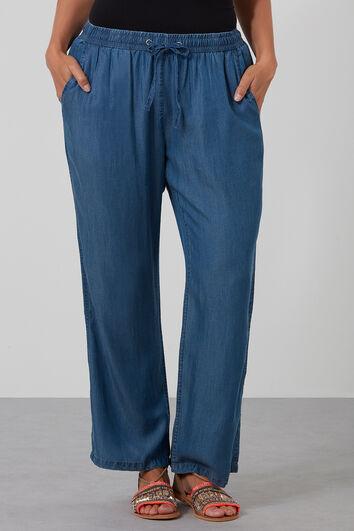 Pantalones de Tencel holgados