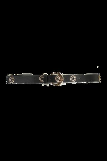 Cinturón con tachuelas decorativas