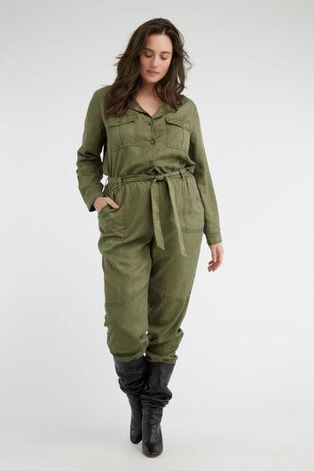 Lookbook Army Jumpsuit