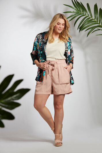 Shorts de Tencel