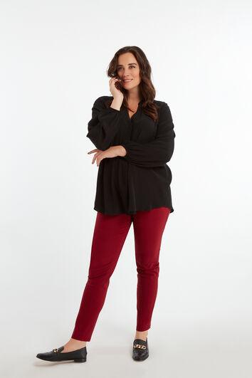 Pantalones ajustados de bengalina