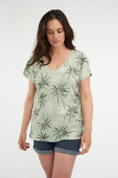 Camiseta con diseño estampado