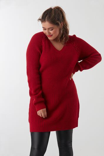 Jersey con cordón entrelazado