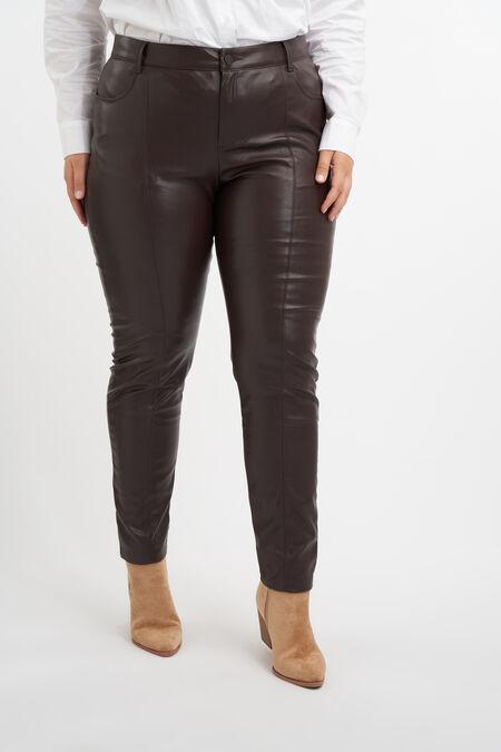 Pantalones de cuero sintético