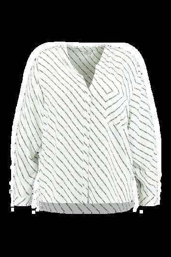 Blusa con bolsillo en el pecho