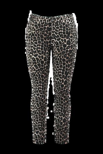 Pantalón con estampado de leopardo