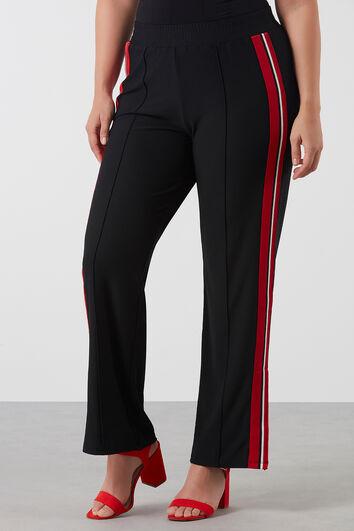 Pantalones con detalle deportivo