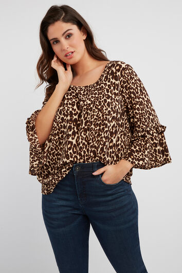 Blusa de animal print