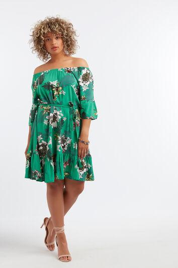 Vestido de estampado floral