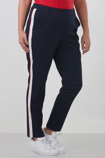 Pantalones con una raya deportiva
