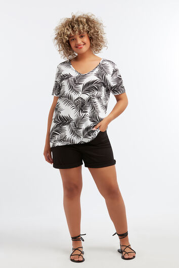 Camiseta básica con estampado