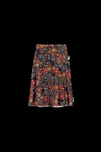 Falda en tejido fresco