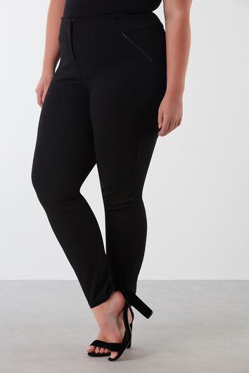 Pantalones con pernera estrecha