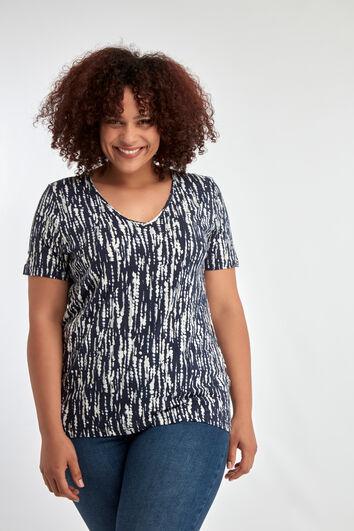 Camiseta con purpurina