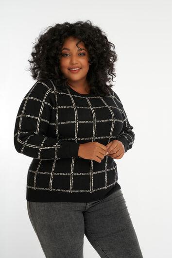 Suéter con estampado