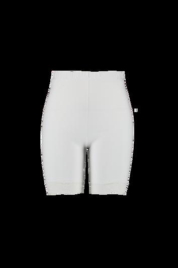 Leggings cortos de encaje