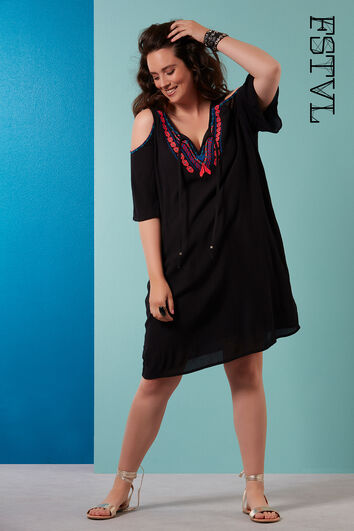 Vestido de verano bordado