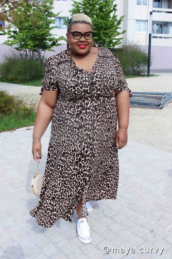Lookbook Leopard Dress