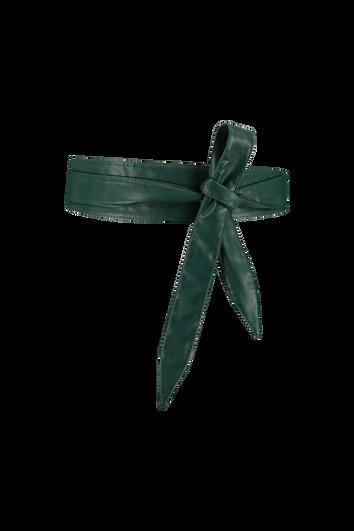 Cinturón de cuero sintético