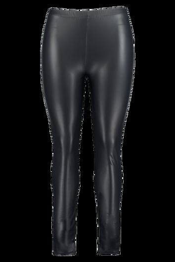 Leggings de cuero sintético