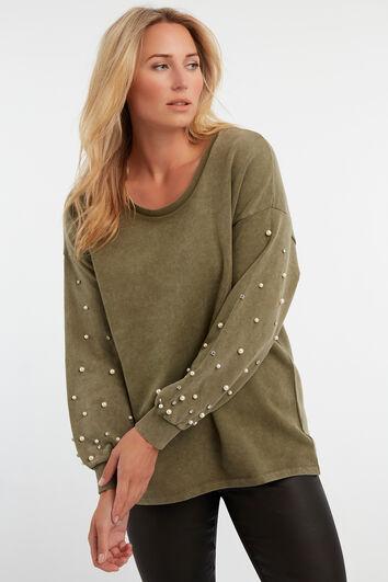 Suéter deslavado